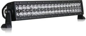 "Rigid Industries - 20"" E-Series White LED Light Bar With Flood/Spot Light Pattern Combo"