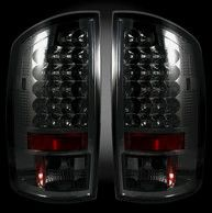 Recon Dodge 02-06 RAM 1500 & 03-06 RAM 2500/3500 LED Tail Lights - Smoked Lens