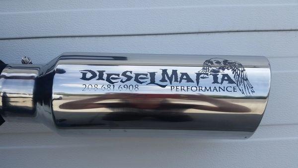 DIesel Mafia Performance Stainless Tip 4''-6'' x 18''