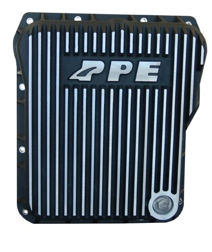PPE Allision Standard Profile Aluminum Transmission Pan - Brushed