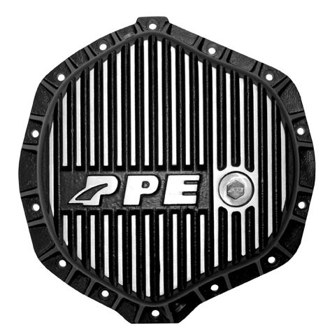PPE Heavy Duty Rear Aluminum Differential Cover - Brushed
