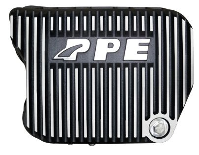 PPE Heavy Duty DEEP 47RH, 47RE, 48RE Aluminum Transmission Pan - Brushed