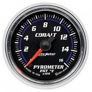 AUTOMETER 6144 COBALT 2-1/16in. 0-1600 F PYROMETER