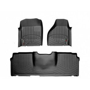 WeatherTech DigitalFit Floor Liner Fits 06-09 Dodge Mega Cab - Black