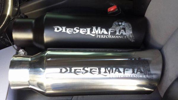 DIesel Mafia Performance Black Tip 4''-6'' x 18''