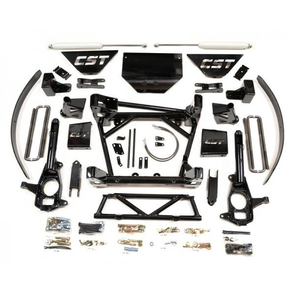 """CST Suspension CSK-C3-16-4 Stage 4 8-10"""" Lift Kit With 2.0 Emulsion Shocks for 11-16 GM 2500HD 4WD"""