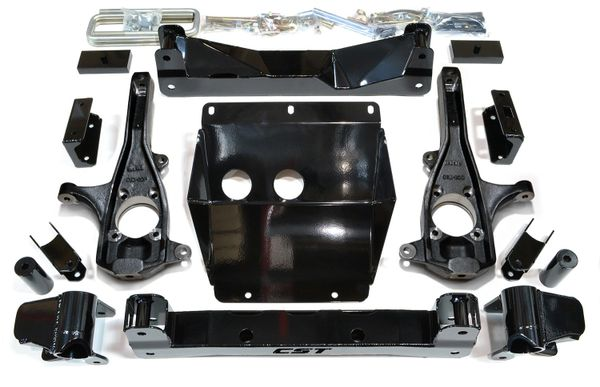 """CST S.T.L. High Clearance LIFT KIT 2011-2016 GM 2500HD 3-6"""" with street series shocks"""