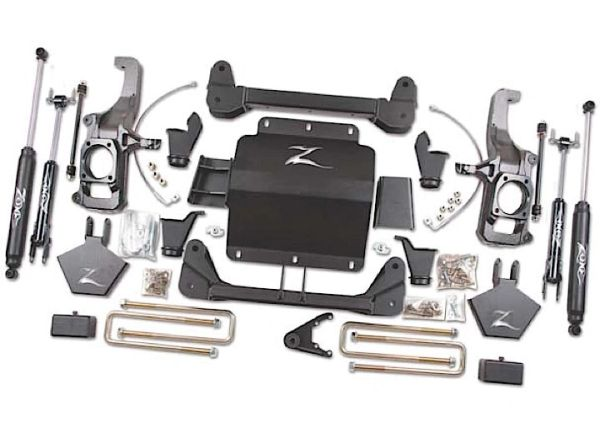 Zone Offroad 11-18 GM HD 5IN SYSTEM W/O TOP OVERLOAD