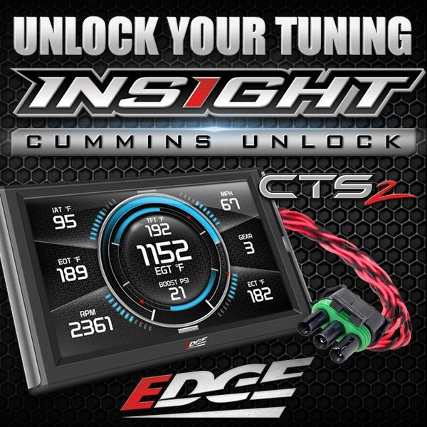 Edge Products CTS 2 insight with unlock cable 13-17 6.7 Cummins