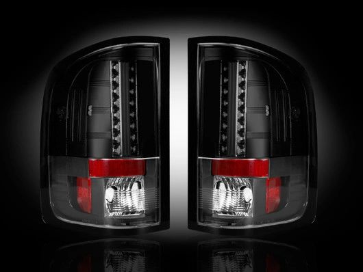 Recon GMC 1500 & 2500/3500(NON DUALLY) 07-13 Smoked LED Tail Lights