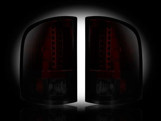 Recon GMC 07.5-13 Red Smoked LED Tail Lights
