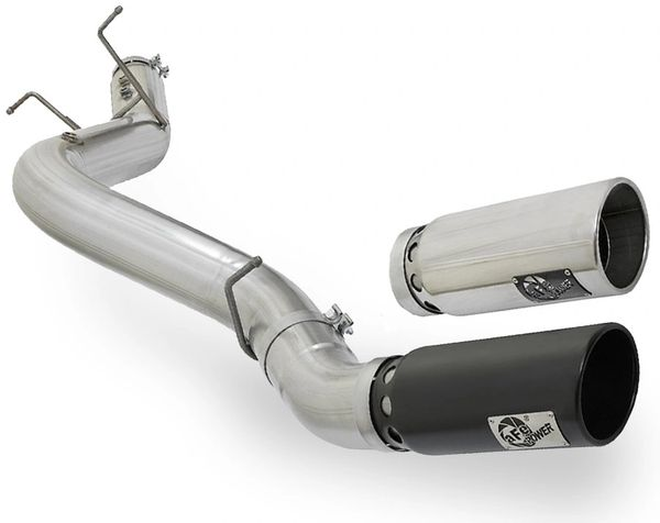 AFE 2017 Chevrolet/GMC Duramax L5P 5-Inch Single Side Exit DPF-Back Exhaust System