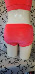 Coral velvet bottoms