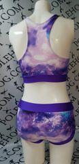 Purple 🌌 galaxy bottoms