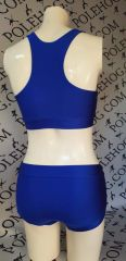 New improved Royal blue racer back top.