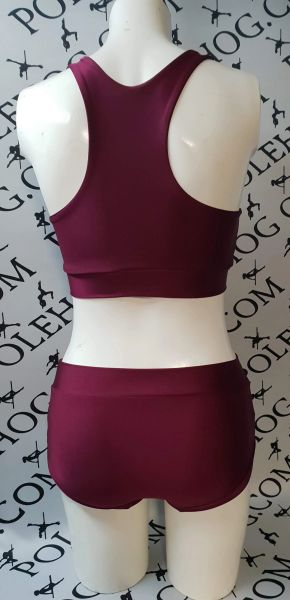 ** new** burgundy wine colourz bottoms