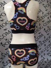 Neon pride bottoms