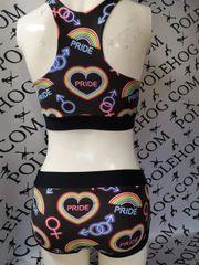 Neon pride bottoms