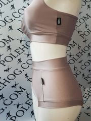 Blush colourz high waisted panel pant