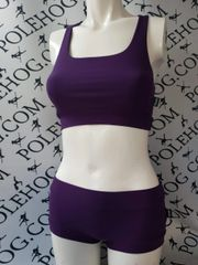PH soft range. RACER BACK. Aubergine