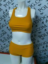 mustard perform racer back top