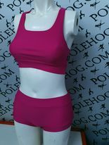 pink PERFORM racer back top