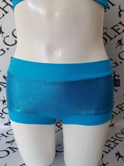 **new**Sea blue diamond dust bottons