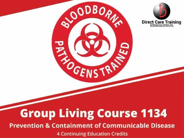 Adult Foster Care Course No. 1134 - Prevention and Containment of Communicable Disease (4 CEUs)