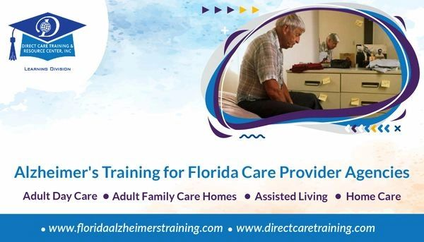 Special Tier 2 Subscription Account for Florida Care Provider Alzheimer's Training 21-50 Users