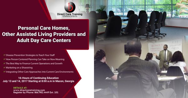 Macon, GA - Continuing Education and Business Development Session