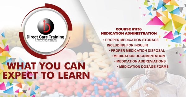 Basic Medication Training for Unlicensed Personnel in Georgia's Personal Care and Other Assisted Living Homes
