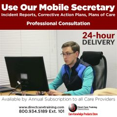 The Mobile Secretary - Tier 1 - Professional Communication Services for Care Providers