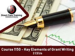 Special Training Course No. 1150 and 1317 - Grant Writing Essentials to Live By (3 CEU)
