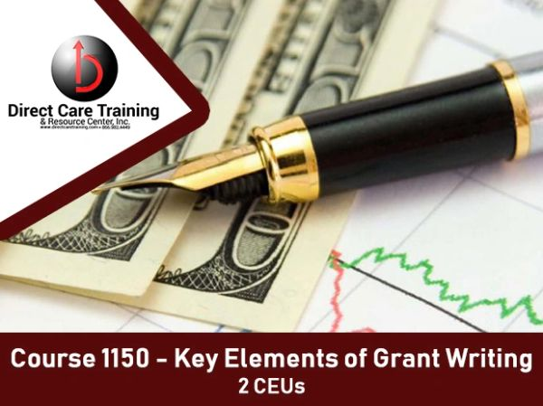 Special Training Course No. 1150 and 1317 - Grant Writing Essentials to Live By (2 CEU)