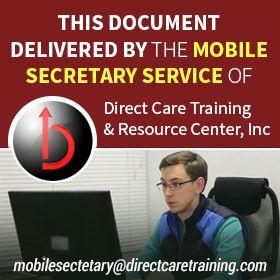 The Mobile Secretary - Tier 2 - Professional Correspondence Service