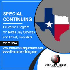 Texas Adult Day and Activity Continuing Education and Staff Development