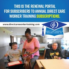 Direct Care Worker Multi-User Annual Subscription & School Renewal