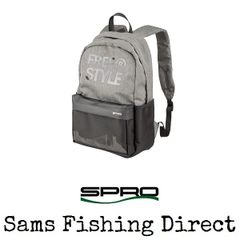 Spro Freestyle Classic Grey Backpack