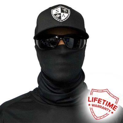 SA Fishing Face Shield Tactical Black