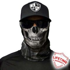 SA Fishing Face Shield Skull Tech | Crow