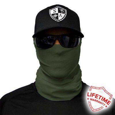 SA Fishing Face Shield Tactical OD Green