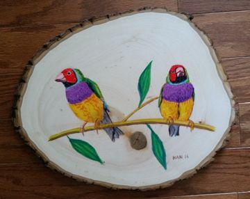 Wood - Finch I