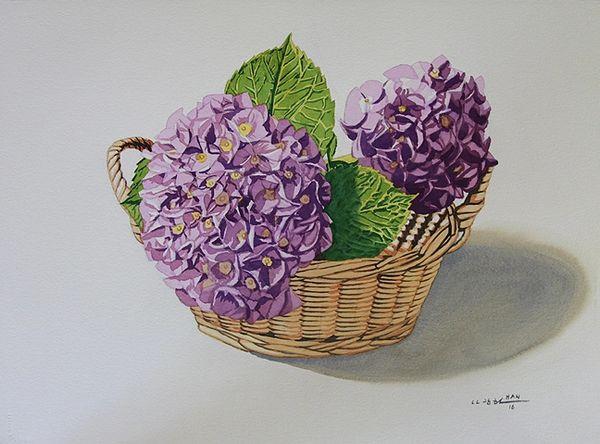 From Hydrangea Garden I