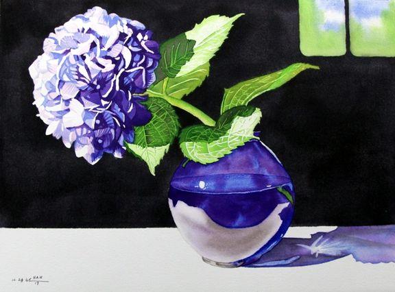 From Hydrangea Garden VI