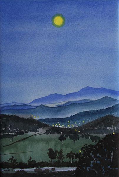 Mountain View - Moon I