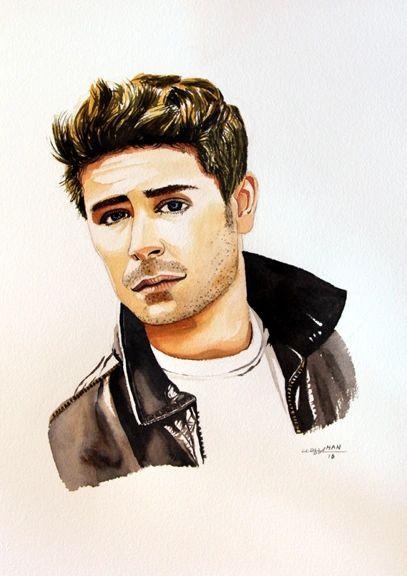 Portrait - Zac Efron