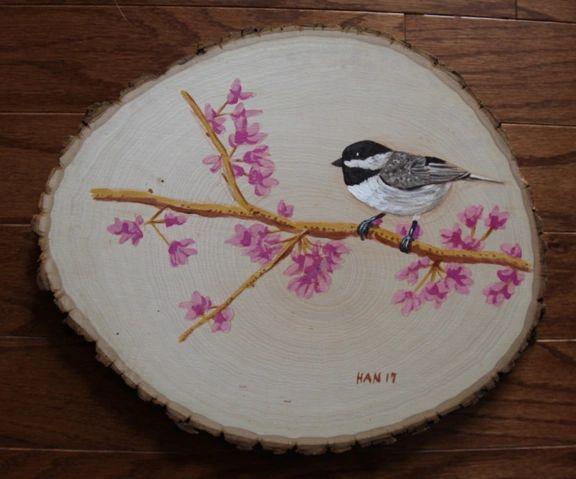 Wood - Chickadee