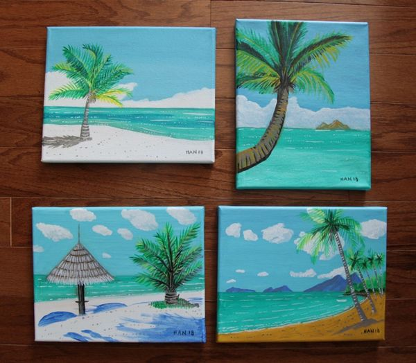 Palm Tree Set I
