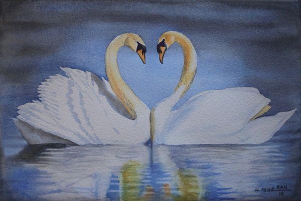 Swan Couple
