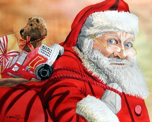 Merry Christmas - Santa Claus